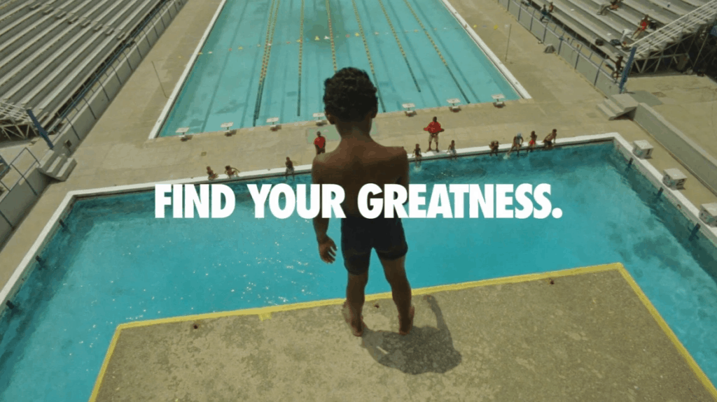 Nike Find Your Greatness Campaign Example